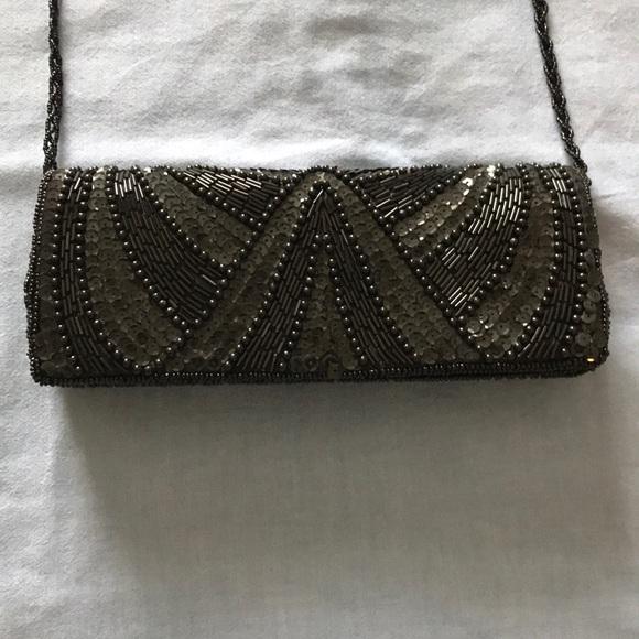 Bijoux Terner Handbags - Beautiful Beaded Clutch